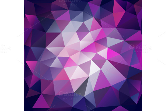 Triangle Background Lilac Polygons