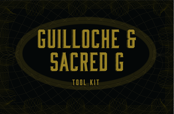 Guilloche Sacred Geometry Tool Kit