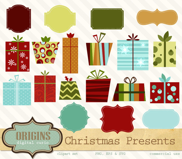 Christmas Gift Boxes PNG And Vectors