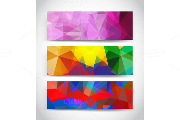 Abstract Multicolor Geometric