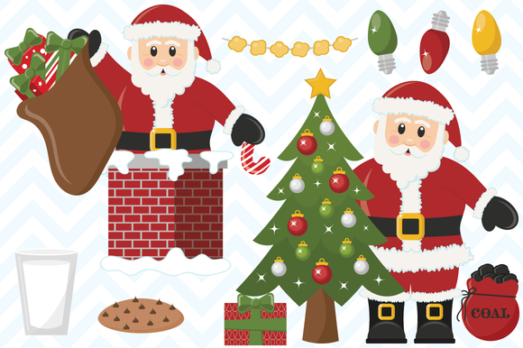 Christmas Vector Santa Claus Designs