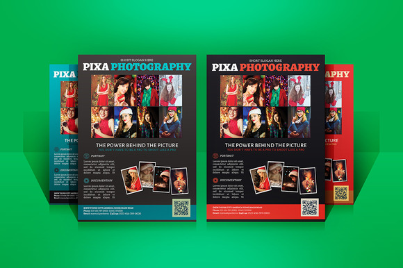 Photography Promotion Flyers