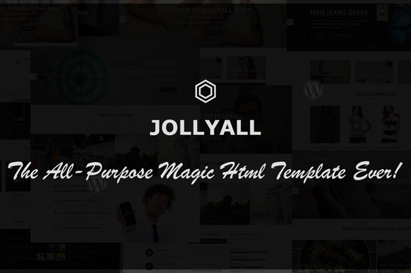Jollyall Creative Website Template
