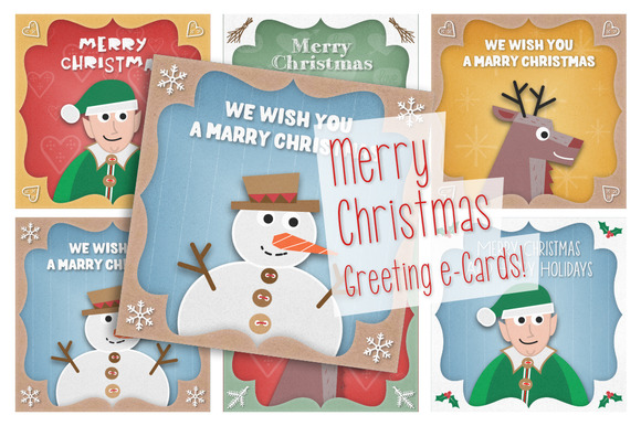 Christmas Greeting E-Cards