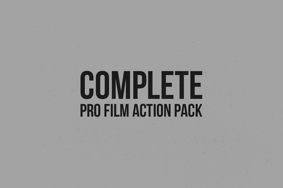 Complete Pro Film Action Pack
