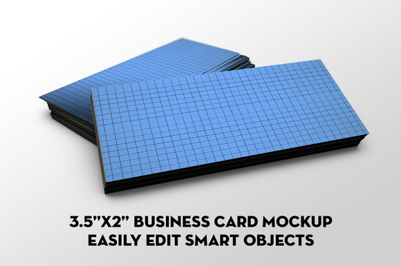 The Standard Business Card Mockup