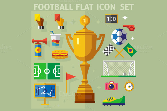 Football Match Illustrations