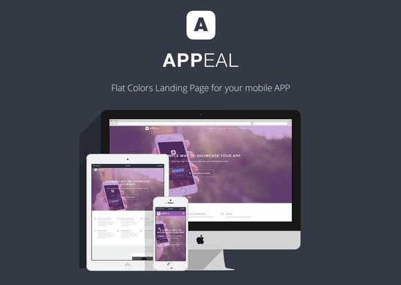 Appeal App Landing Page