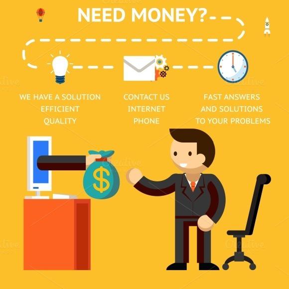 Need Money Concept