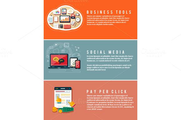 Icons For Web Design Seo Social