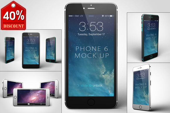 3in1 Bunble IPhone 6 Mock-Up