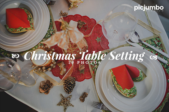 Christmas Setting Photo Pack