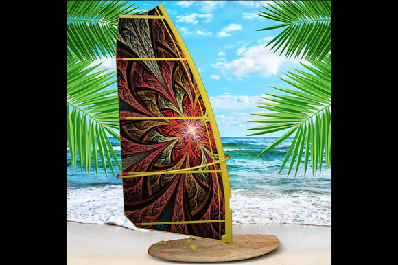 Realistic Windsurf Mock Up Vol.2