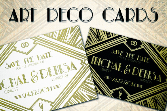 Art Deco Cards