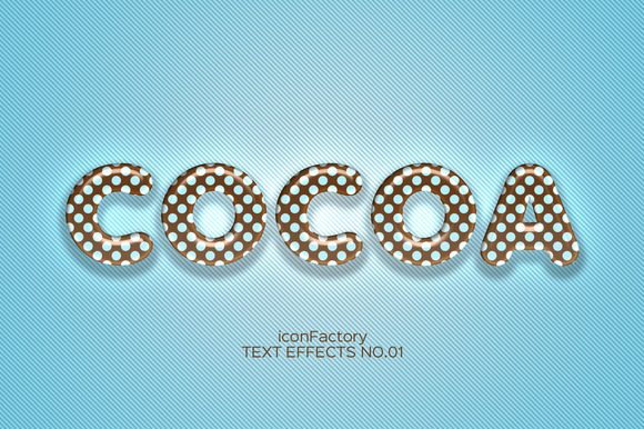 Candy Text Effects Vol.1