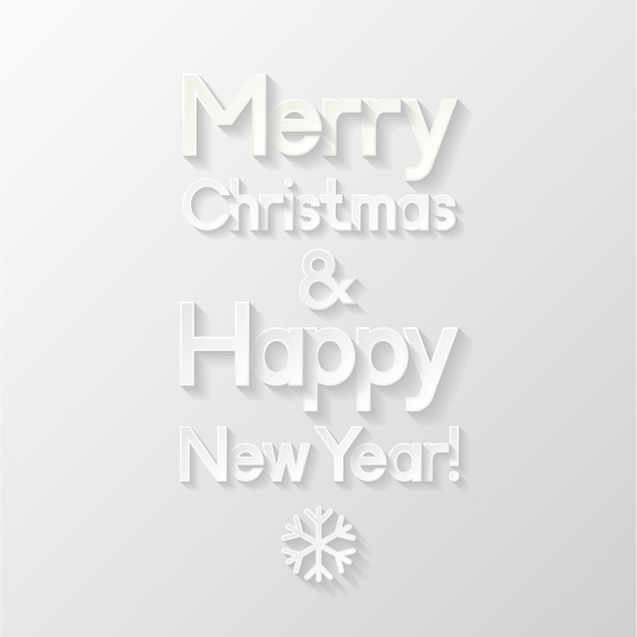 Christmas New Year Greeting Cards
