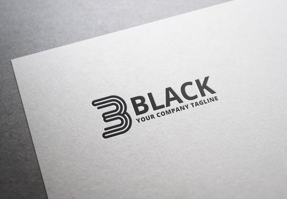 3 Black Logo
