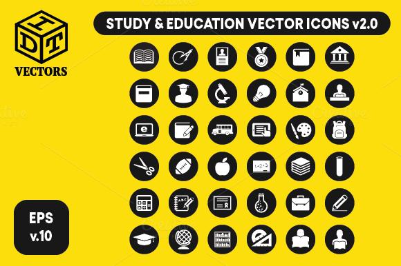 Study Education Vectors