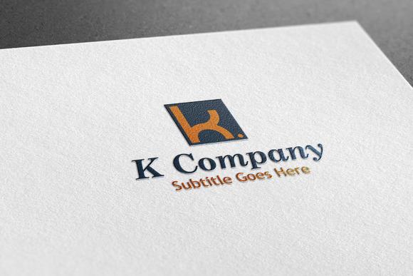 K Company Style Logo