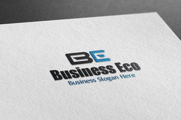 Business Eco Style Logo