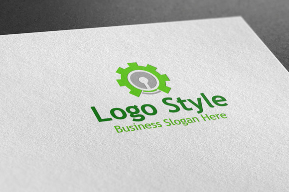 Industry Lock Logo