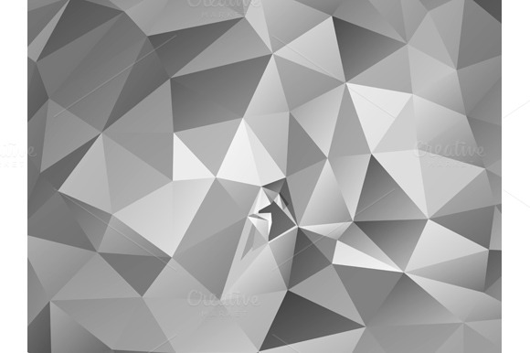 Triangle Background Gray Polygons