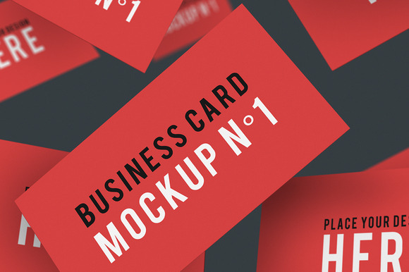 Business Card Mockup NЎг1