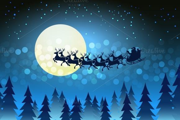 draw santa in his sleigh 187 designtube creative design