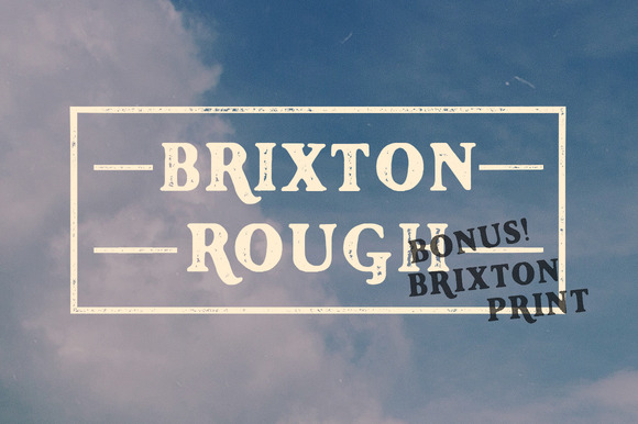 Brixton Rough And Print Bundle