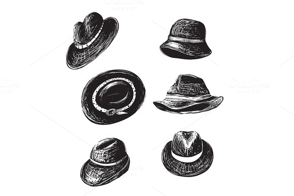 Vintage Hats Collection