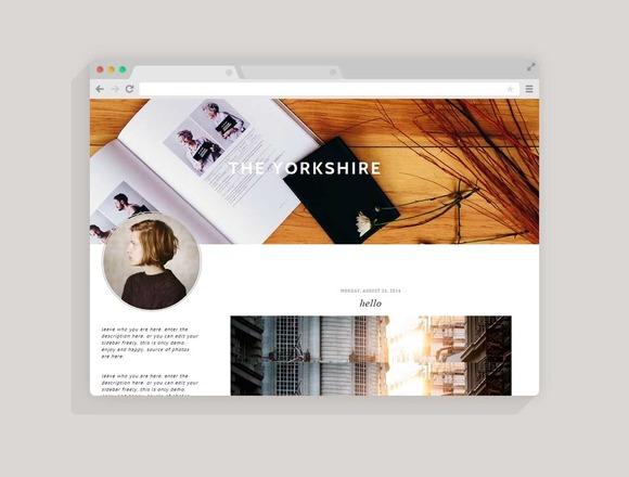 Blogger Template Yorkshire