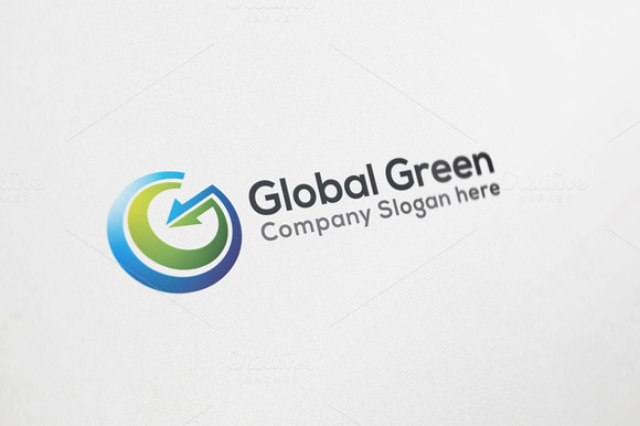Global Green Logo Design