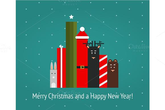 Christmas Holiday Characters Graph
