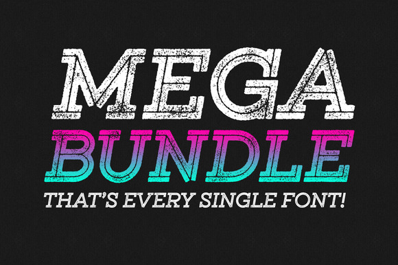 Entire Shop Bundle 148 Fonts