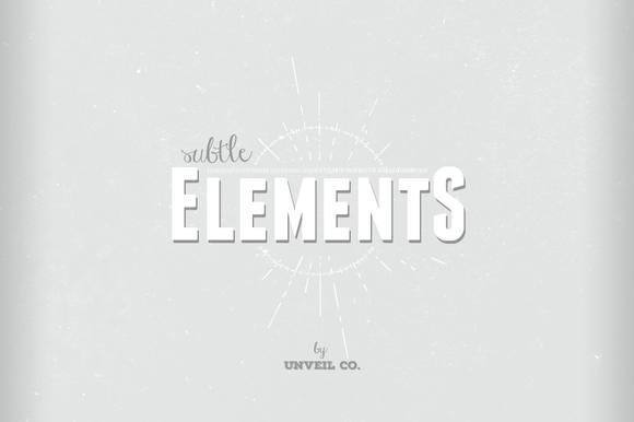 Subtle Elements Pack