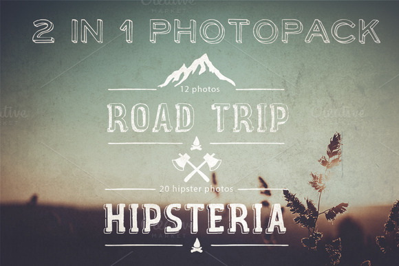 Roadtrip Hipster Pack 2in1