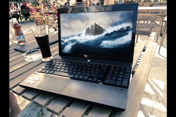 Photorealistic Laptop Mock Up