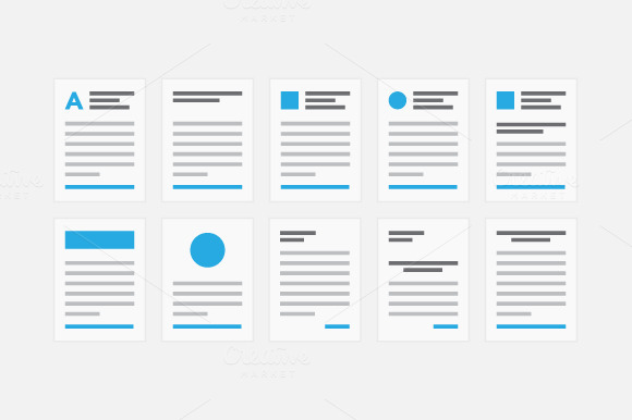 Document Icons 50% OFF