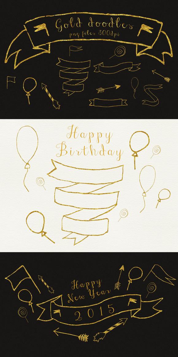 Gold Doodles