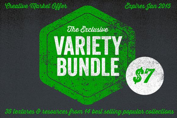 Creative Market 2014 Variety Bundle