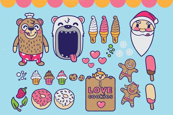 Bear Cookies