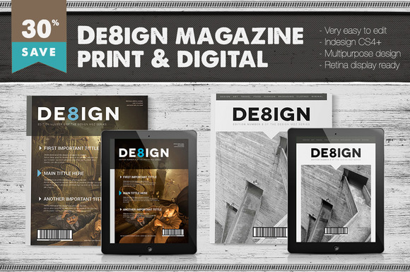 Design Magazine 8 Bundle