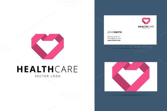 Health Care Vector Logo Template