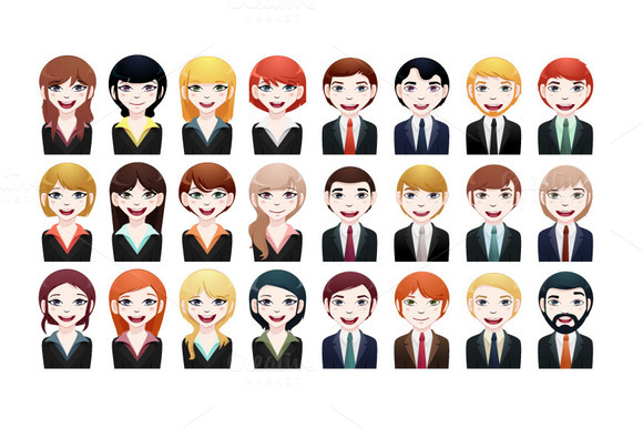 24xbusiness Avatar Different Races