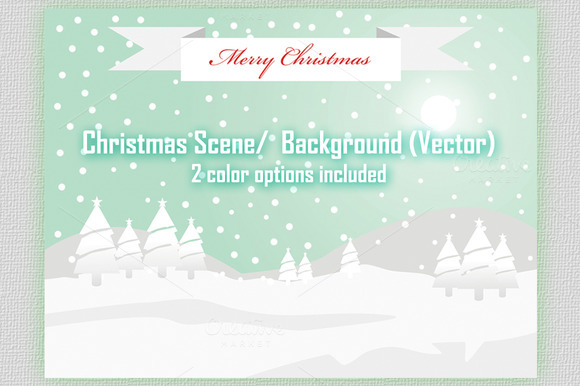 Christmas Scene Background