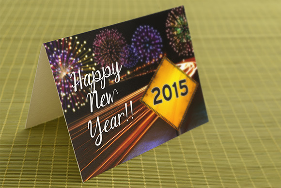 Happy New Year Greeting Card Pack