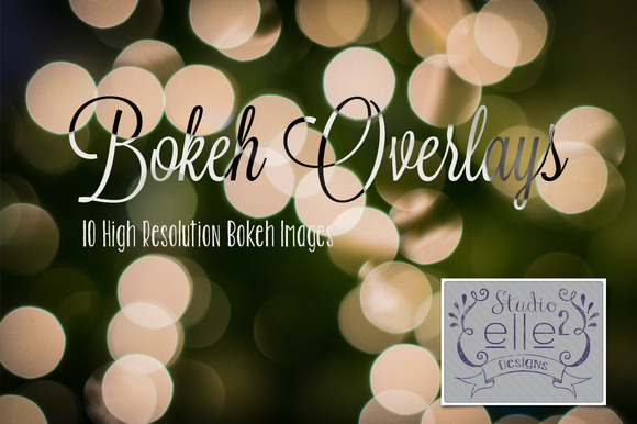 Bokeh Overlays Vol #1