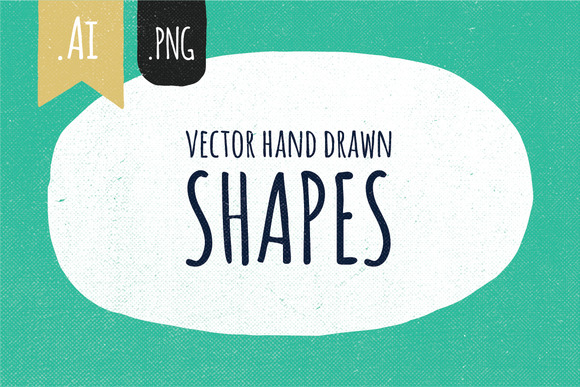 Hand Drawn Vector Shapes