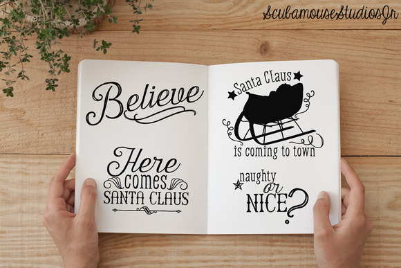 Santa Claus Themed Overlays