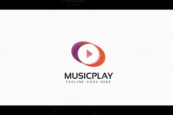 Music Video Play Logo